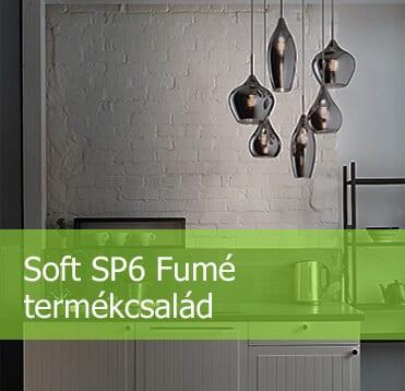 Soft SP6 Fumé termékcsalád | Aladdin csillárbolt